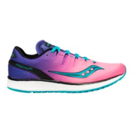 Saucony Women's Everun Freedom ISO Running Shoes - Pink/Purple/Teal
