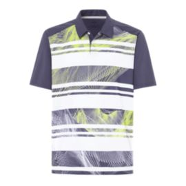 Oakley Golf Men's Aero Stripe Mashie Polo