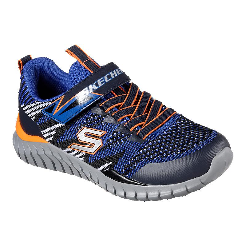 20cb2044 Skechers Kids' Spectrix Preschool Shoes - Blue/Black/Orange | Sport Chek