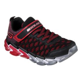 Skechers Kids' Skech-Air 4 Preschool Shoes - Black/Red