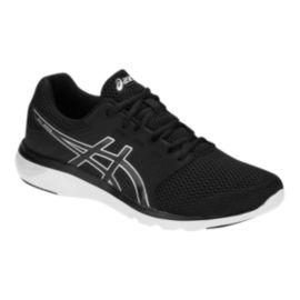 ASICS Men s Gel Moya Shoes - Black Silver  6e3b324bf416