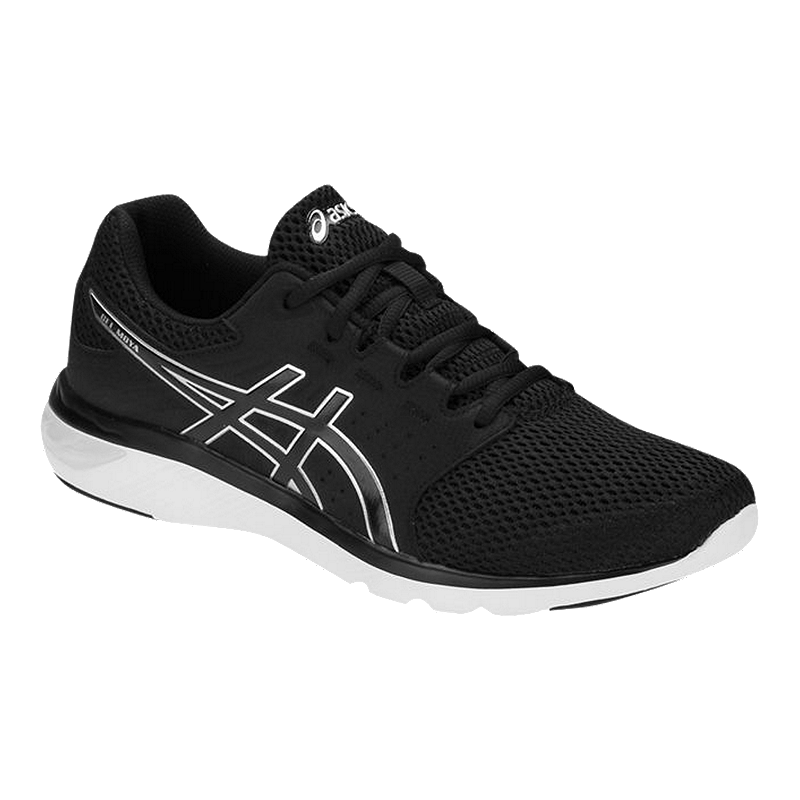 sale retailer f9d95 a1125 ASICS Men's Gel Moya Shoes - Black/Silver