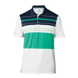 adidas Golf Men's Engineered Stripe Polo
