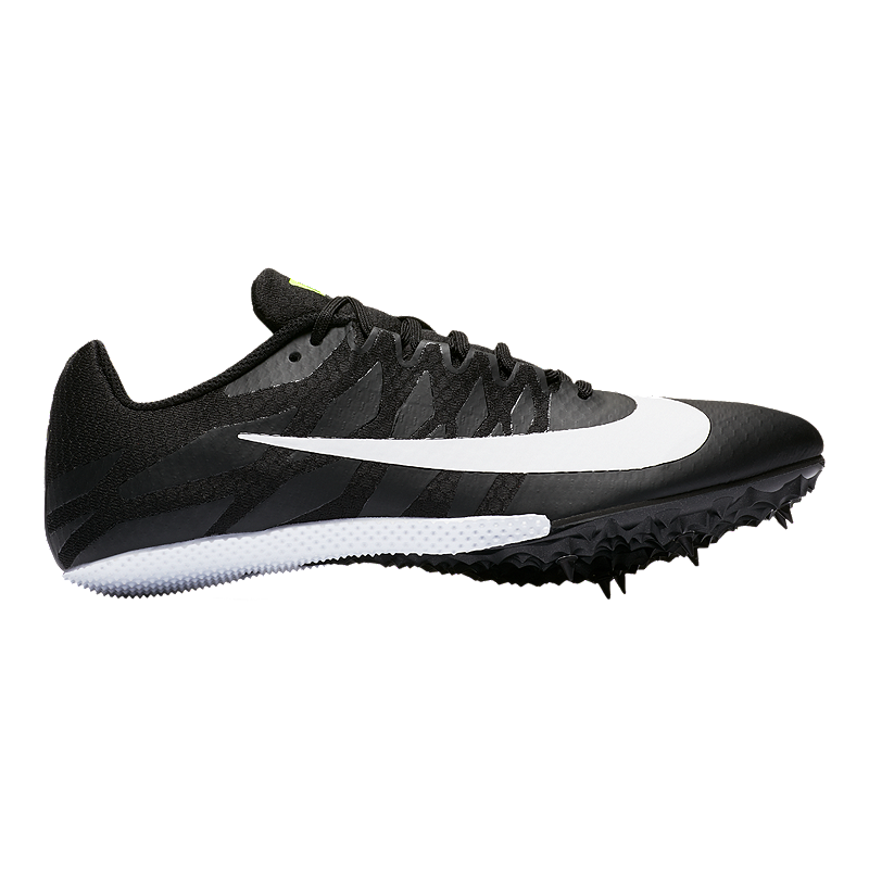 separation shoes c6257 e70b1 Nike Men s Zoom Rival S 9 Track   Field Running Shoes - Black White Volt    Sport Chek