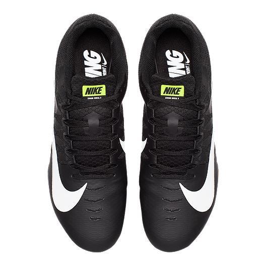 9e9428924dc7a Nike Men's Zoom Rival S 9 Track & Field Running Shoes - Black/White ...
