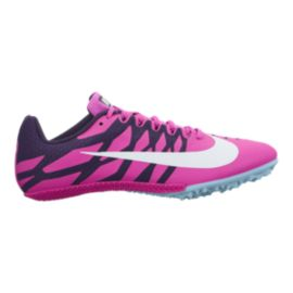 Nike Women's Zoom Rival S 9 Track & Field Running Shoes - Purple/White