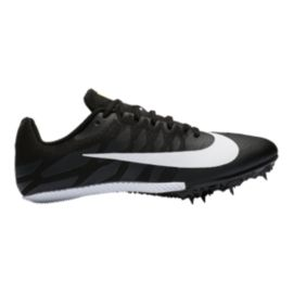 Nike Women's Zoom Rival S 9 Track & Field Running Shoes - Black/White/Volt