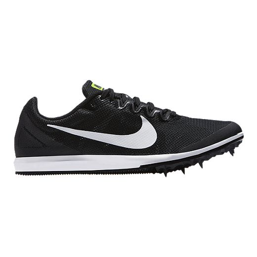 Evaluable Vigilante personal  Nike Women's Zoom Rival D 10 Track & Field Running Shoes - Black/White/Volt    Sport Chek