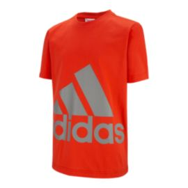 adidas Boys' Big Logo T Shirt