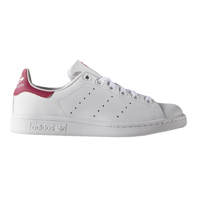 the latest 035ac 6c5ac adidas Girls  Stan Smith Grade School Shoes - White Pink   Sport Chek