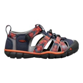 Keen Kids' Seacamp II Preschool CNX Sandals - Blue/Orange