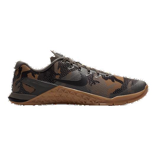 51bde4025a404 Nike Men's Metcon 4 Training Shoes - Camo Green/Gum | Sport Chek
