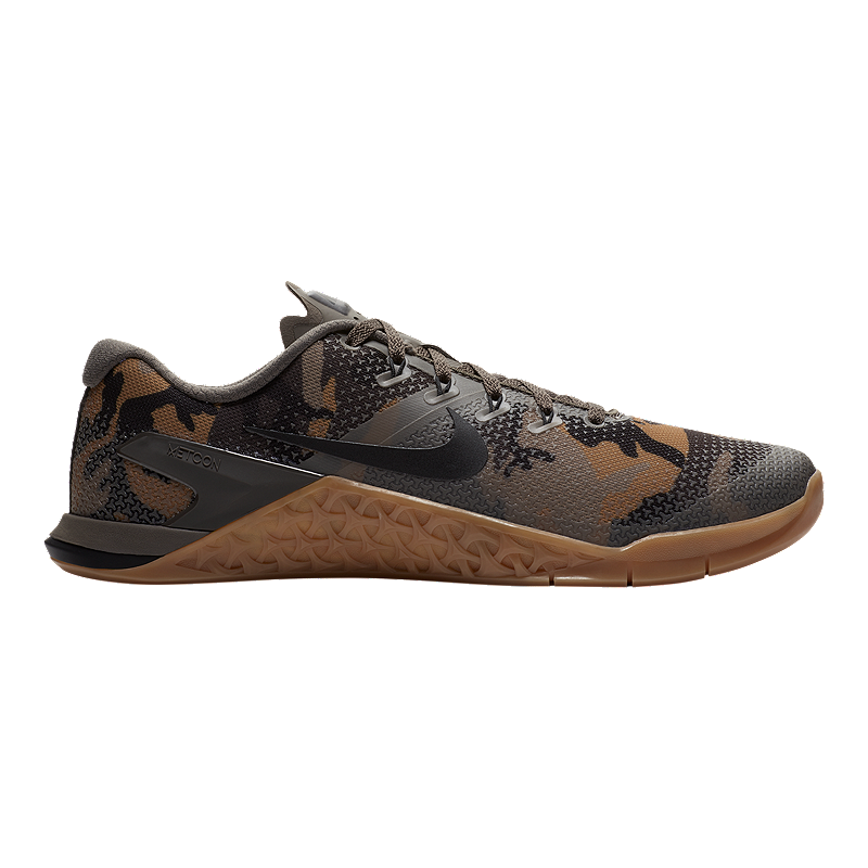pretty nice 67073 2345e Nike Men s Metcon 4 Training Shoes - Camo Green Gum   Sport Chek