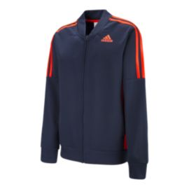adidas Boys' Athletic Linear Jacket