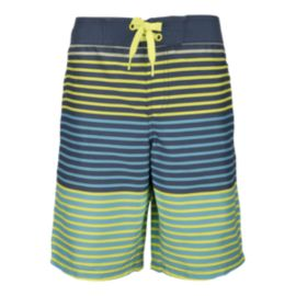 Ripzone Boys' Josh Striped Swim Shorts