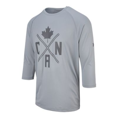 Under Armour Men's Team Canada Performance 3/4 T Shirt