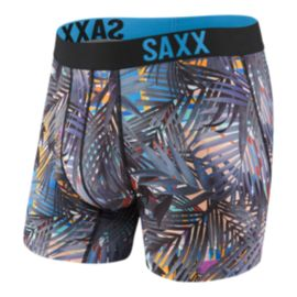 SAXX Men's Fuse Boxer Briefs - Mystic Palm