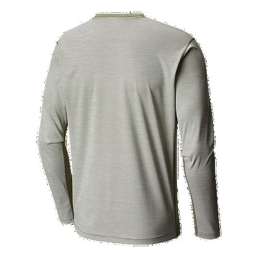 219d9184012 Columbia Men's Solar Chill Long Sleeve Shirt - Mosstone   Sport Chek
