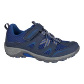 Merrell Kids' Trail Chaser Low Hiking Shoes - Blue/Navy
