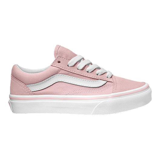 b0289c427b1e Vans Girls  Old Skool Shoes - Pink White
