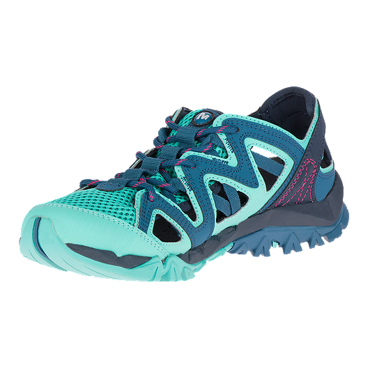 b4ba32b5abb0 Merrell Women s Tetrex Crest Wrap Shoes - Legion Blue