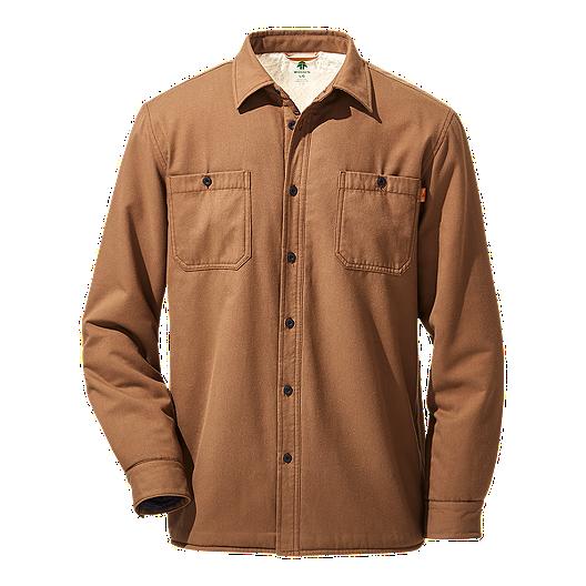 063c26703 Woods Men s Charleston Sherpa Lined Shirt