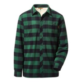 Woods Men's Charleston Sherpa Lined Shirt