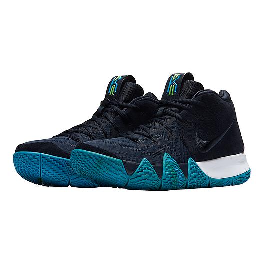 best website 0b6ca 7a7d7 Nike Men's Kyrie 4 Basketball Shoes - Dark Obsidian/Black ...
