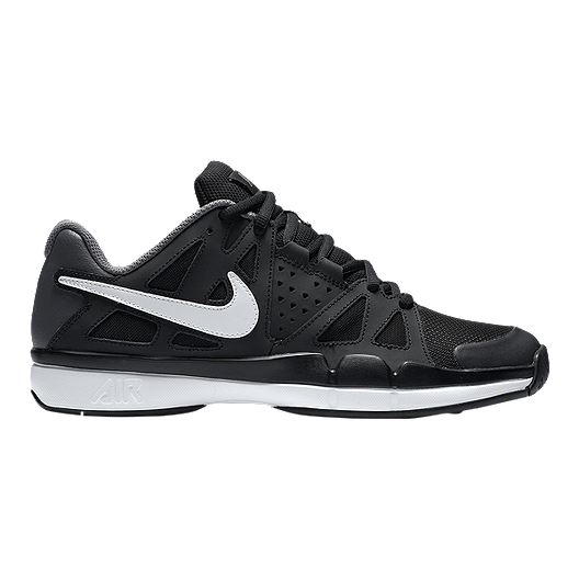 Nike Men's Air Vapor Advantage Tennis Shoes BlackWhite