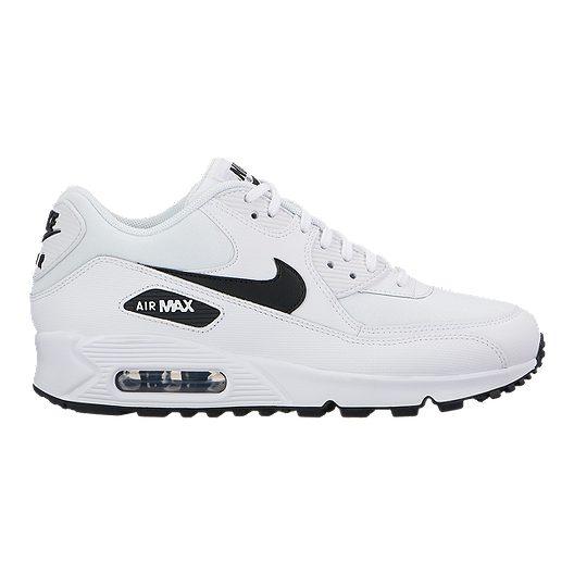 outlet store 24e23 46d40 Nike Women s Air Max 90 Shoes - White Black   Sport Chek