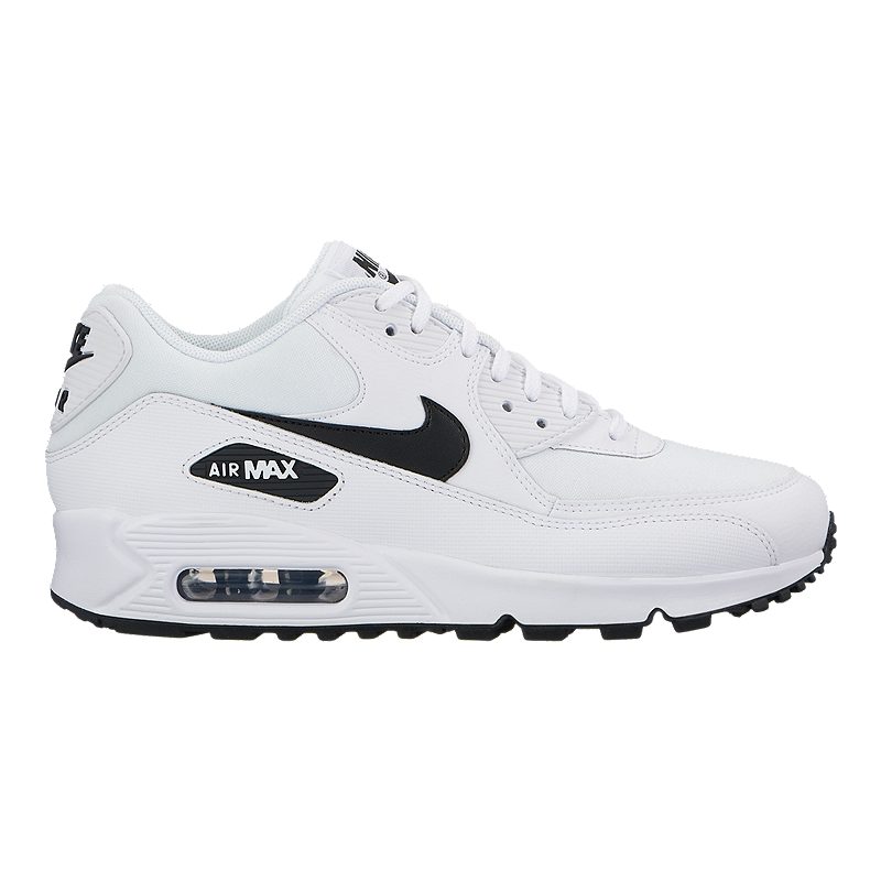 outlet store 664fc 4b7b2 Nike Women s Air Max 90 Shoes - White Black   Sport Chek