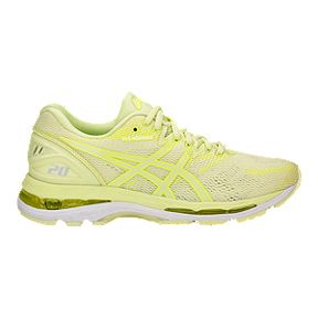 18846eab16 ASICS Women's Gel Nimbus 20 Running Shoes - Green/Yellow