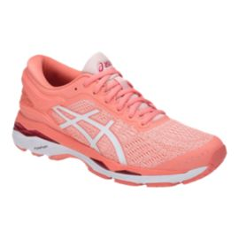 ASICS Women's Gel Kayano 24 Running Shoes - Pink/White