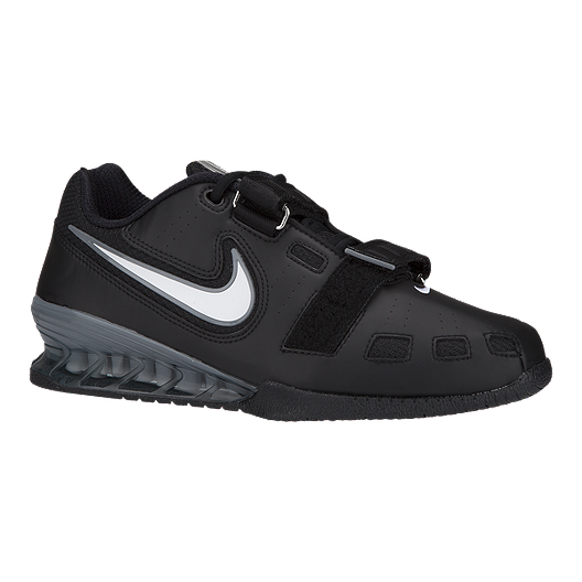 check out fe24b 7645f Nike Men s Romaleos 2 Weightlifting Shoes - Black White   Sport Chek