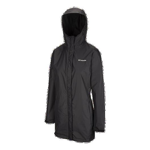 511de50250f Columbia Women's Arcadia Lined Long Rain Jacket   Sport Chek