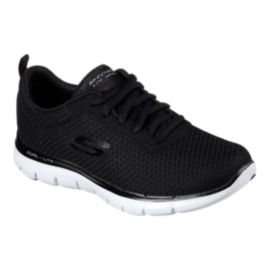 Skechers Women's Flex Appeal 2.0 Newsmaker Shoes - Black