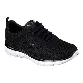 fe0b80239046 Skechers Women s Flex Appeal 2.0 Newsmaker Shoes - Black