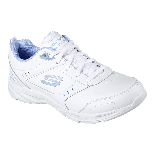 skechers blue running shoes