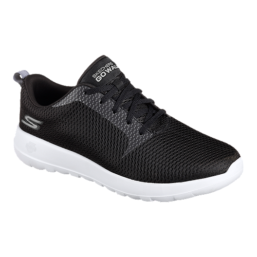 84f58cd4154f Skechers Men s Go Walk Max Wide Width Shoes - Black White