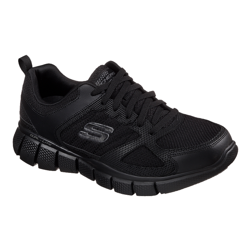 ee750ec7521c Skechers Men s Equilizer 2.0 On Track Wide Width Shoes - Black ...