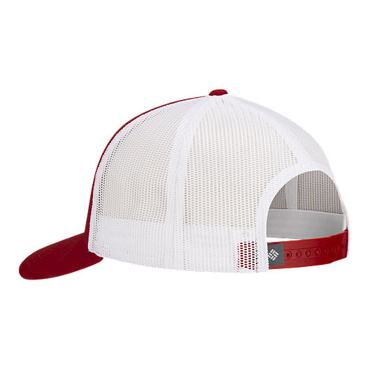 389edfcf90197 Columbia Men s Mesh Snapback Hat - Red Spark