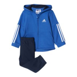 adidas Toddler Boys' Full Zip Hoodie & Jogger Pants Set