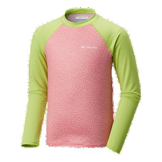 a8e969ab Columbia Girls' Mini Breaker Print UPF 50 Long Sleeve Sunguard Shirt    Sport Chek