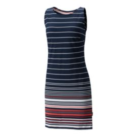 Columbia Women's Harborside Knit Dress - Collegiate Navy Stripe