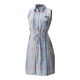 Columbia Women's Super Bonehead II Dress - Cherry Blossom Plaid