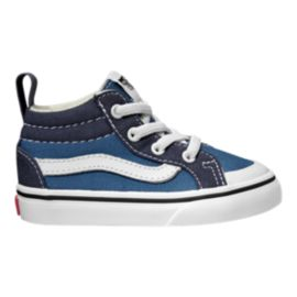 Vans Toddler Racer Mid Shoes - Navy