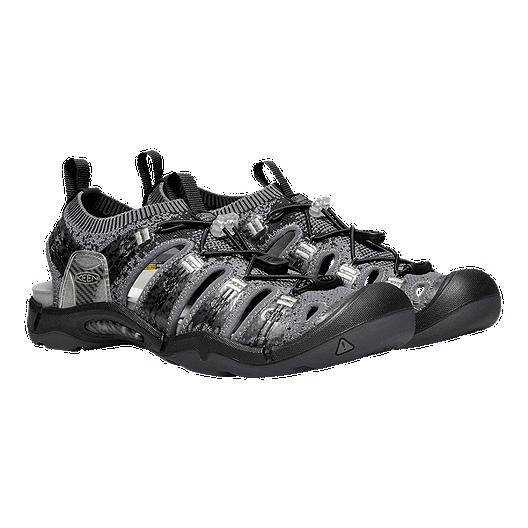 6123e1a589ba Keen Men s EvoFit One Sandals - Black Grey