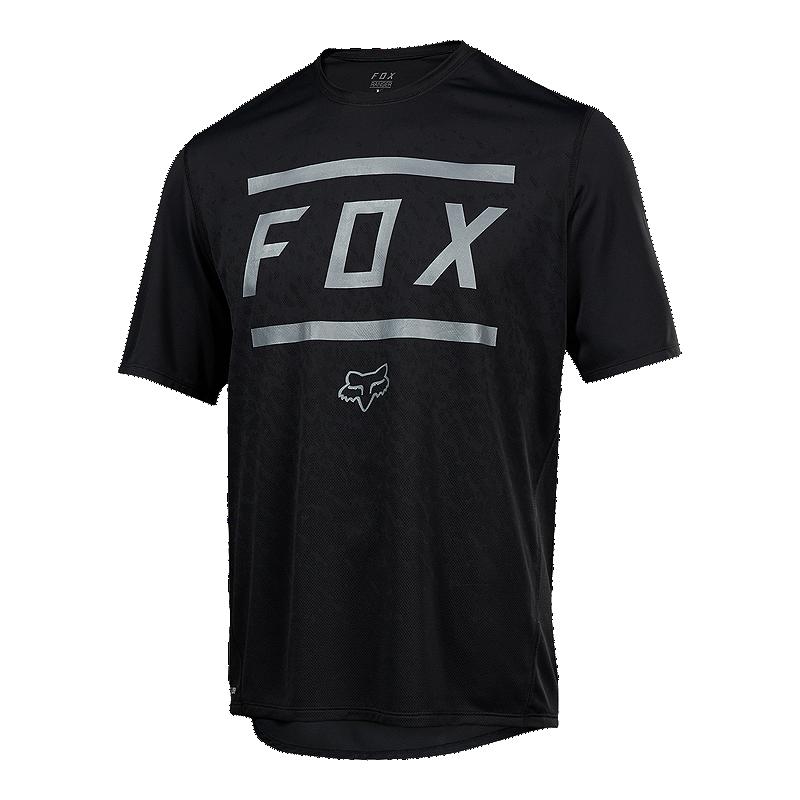 Fox Men s Ranger Mountain Bike Short Sleeve Bars Jersey  53ac2d41f