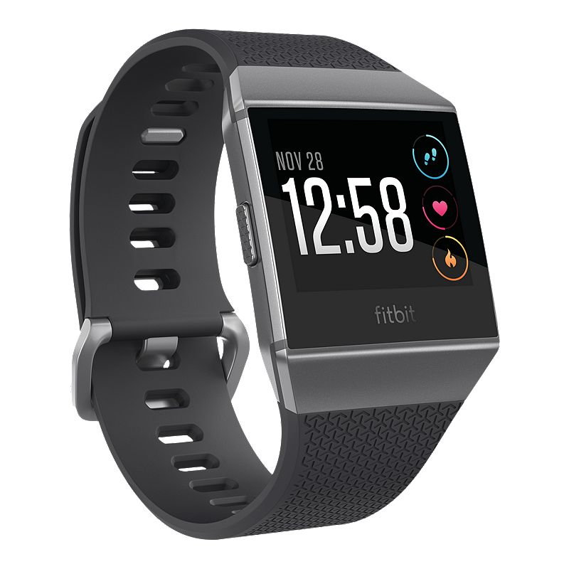 Fitbit Ionic Smartwatch - Charcoal/Graphite Grey