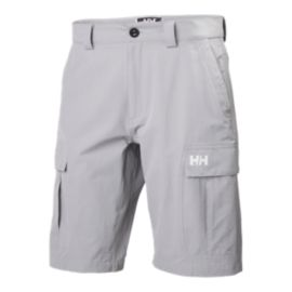 Helly Hansen Men's QD 11 Inch Cargo Short - Silver Grey